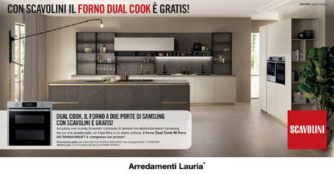 Con Scavolini Il Forno Samsung Dual Cook E Gratis Arredamenti Lauria